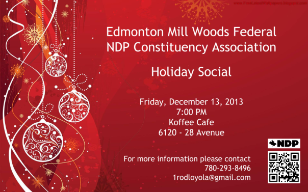 MW NDP CA Holiday Social