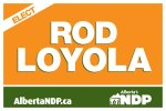 Rod Loyola Lawn Sign